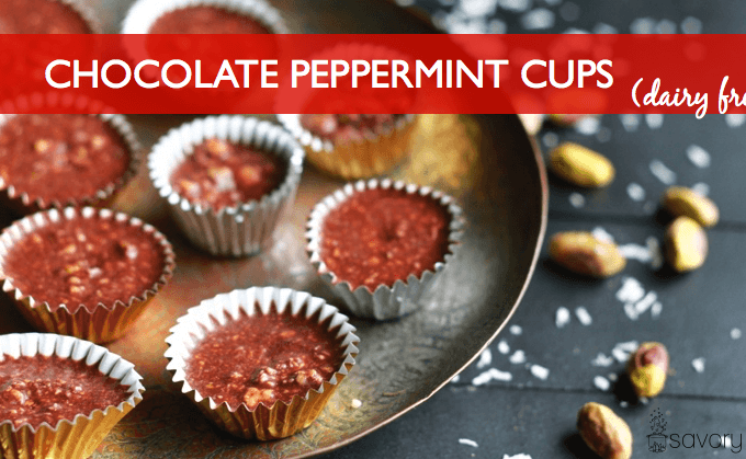 Chocolate Peppermint Cups (dairy free)