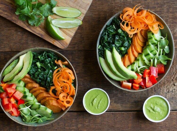 Veggie Breakfast Bowl - www.savorylotus.com
