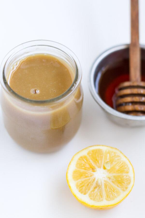 Healthy Honey Mustard Dressing ~ www.savorylotus.com