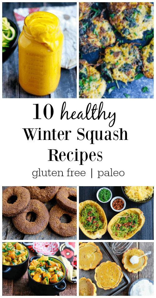 10 Healthy Winter Squash Recipes - www.savorylotus.com