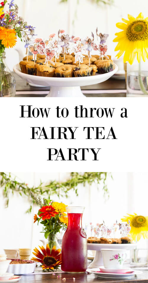 How to Throw a Fairy Tea Party - www.savorylotus.com
