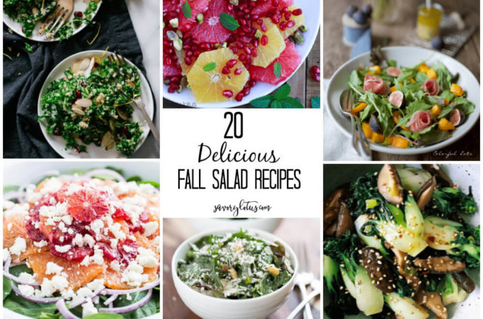 20 Delicious Fall Salad Recipes