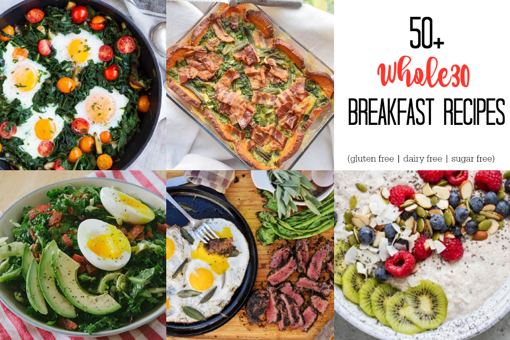 50+ Whole30 Breakfast Recipes | | www.savorylotus.com