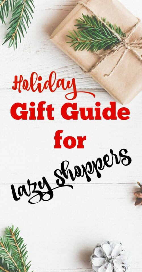 Holiday Gift Guide for Lazy Shoppers - www.savorylotus.comca