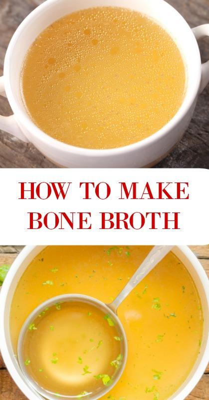 How to Make Bone Broth - - www.savorylotus.com