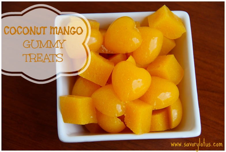 Coconut Mango Gummy Treats