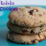Nutty Raisin Toddler Cookies savorylotus.com