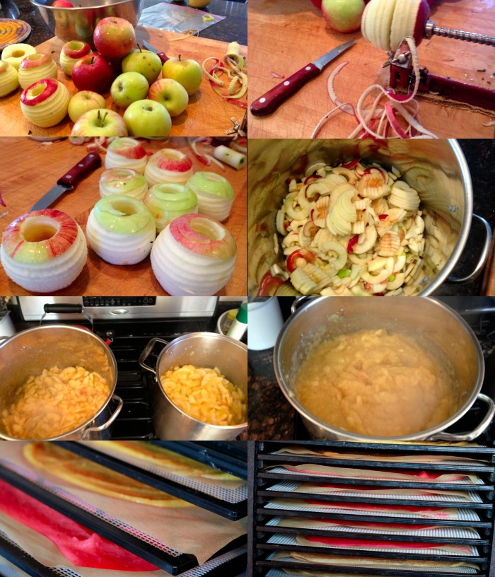 step by step on how to make applesauce