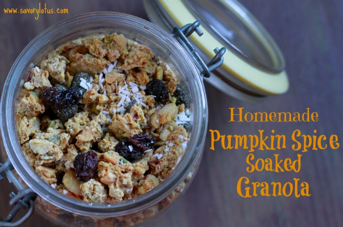 Soaked Pumpkin Spice Granola
