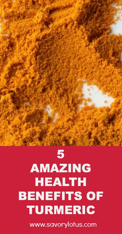 5 Amazing health Benefits of Turmeric