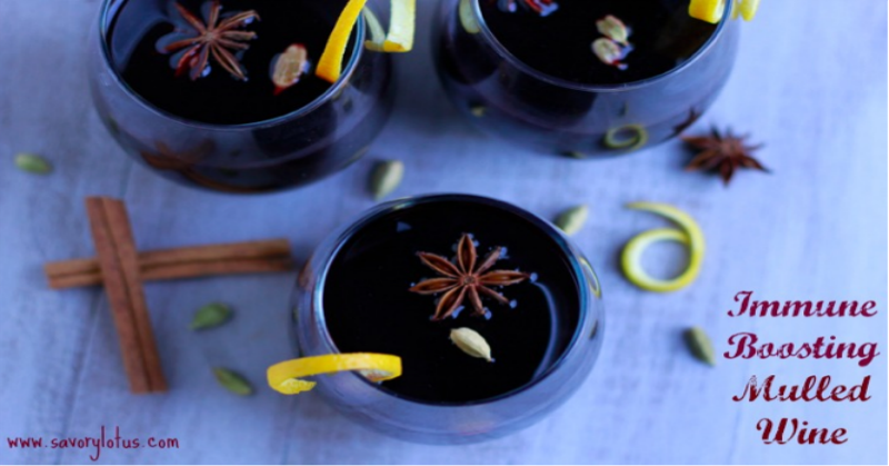 Immune Boosting Mulled Wine