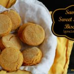 sweet potato biscuits(grain free)/www.savorylotus.com