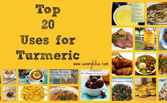 Top 20 Uses For Turmeric