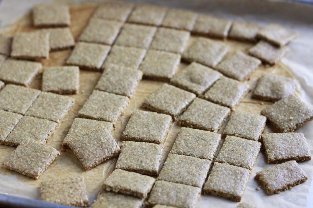 """Cheesy"" Paleo Crakers dairy and nut free)~ savorylotus"