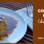 Coconut Flan (dairy free, paleo) savorylotus.com