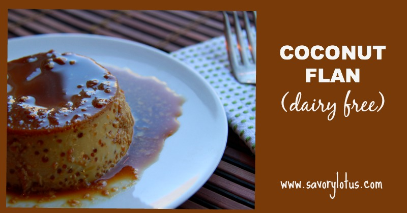Coconut Flan (dairy free)