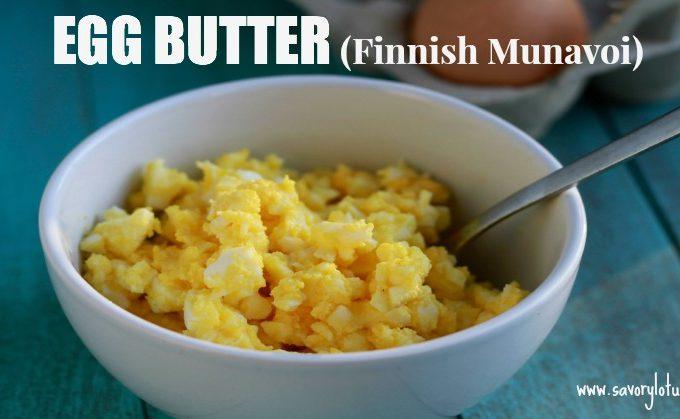 Egg Butter (Finnish Munavoi)