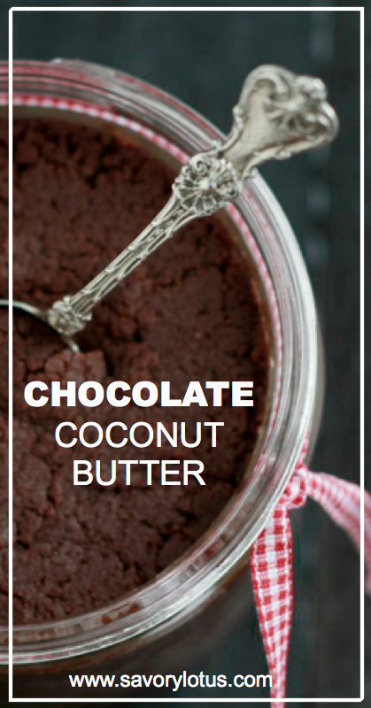 Chocolate Coconut Butter - savorylotus.com.001