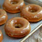 Maple Glazed Donuts (grain and gluten free, paleo) ~ savorylotus