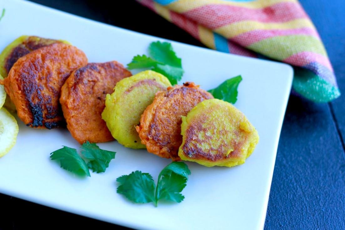 Masala Sweet Potato Bites (gluten and grain free, paleo) ~~ savorylotus.com