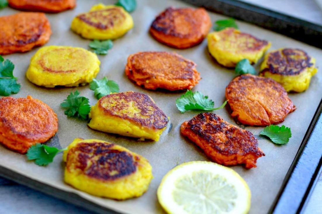 Masala Sweet Potato Bites (gluten and grain free, paleo) ~ savorylotus.com