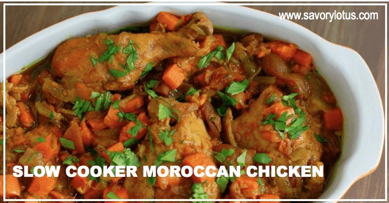Moroccan food recipes chicken