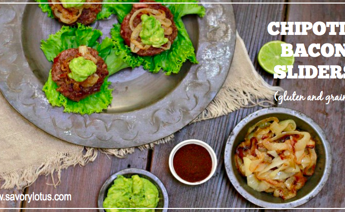 Chipotle Bacon Sliders (gluten and grain free)