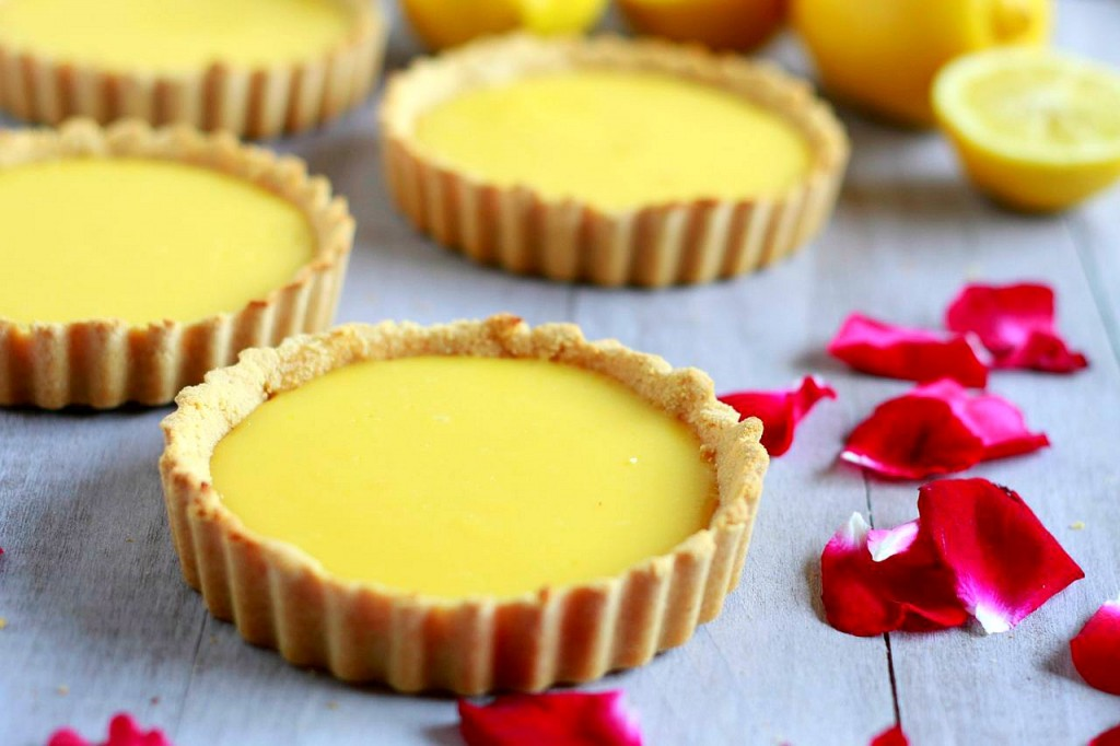 Luscious Lemon Tarts (gluten and grain free, paleo ...