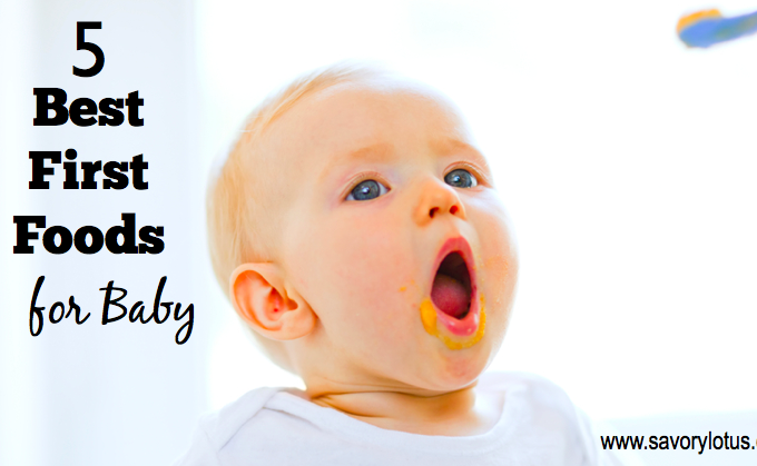 5 Best First Foods for Baby