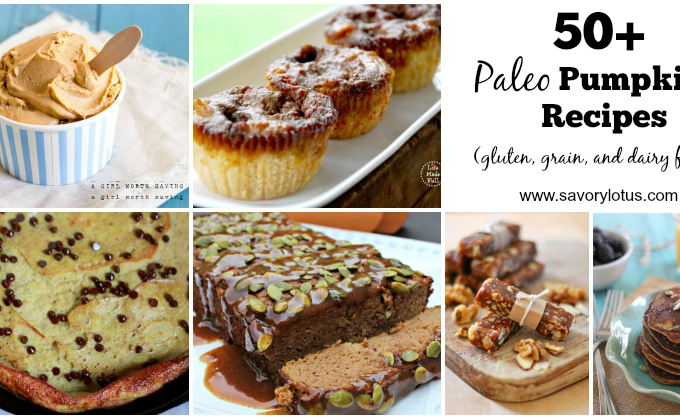 50+ Paleo Pumpkin Recipes