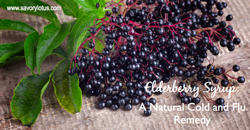 cold and flu remedy, elderberries, natural remedies