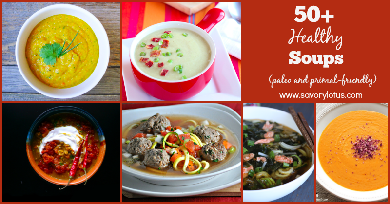 soup recipes, healthy, paleo soup