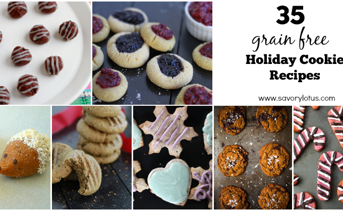 35 Grain Free Holiday Cookie Recipes