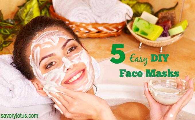 5 Easy DIY Face Masks