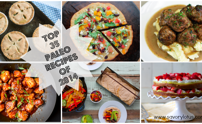 Top 35 Paleo Recipes of 2014