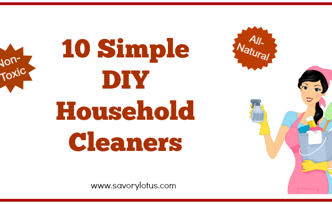 10 Simple DIY Household Cleaners