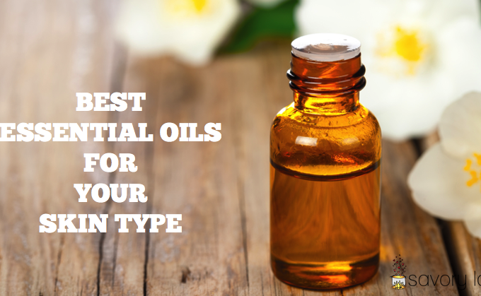 essential oils, for skin, skin type