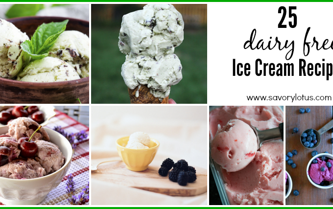 25 Dairy Free Ice Cream Recipes