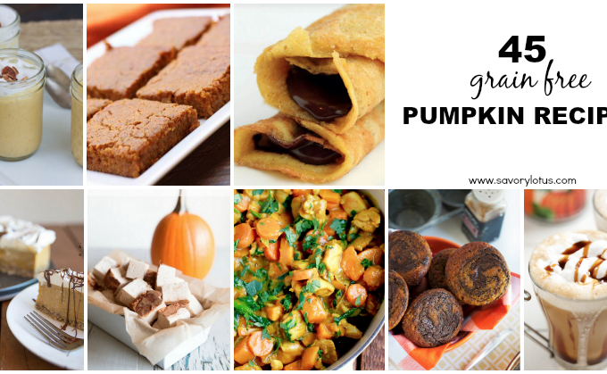 45 Grain Free Pumpkin Recipes
