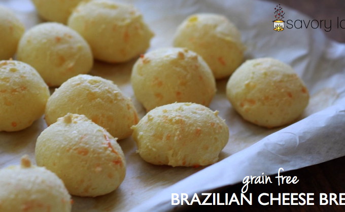 Grain Free Brazilian Cheese Bread (Pao de Queijo)