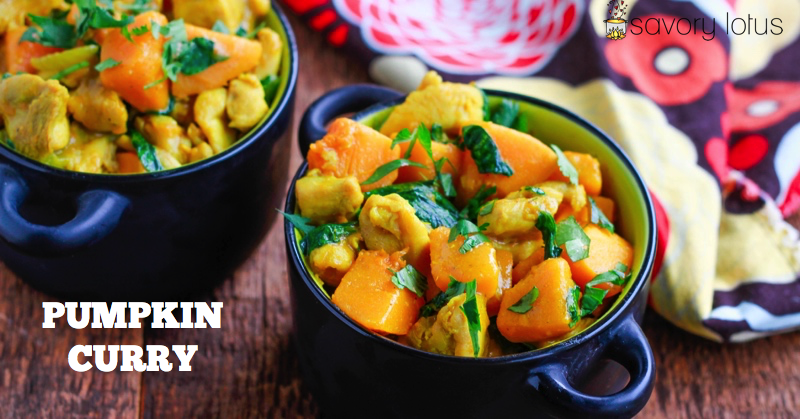 Pumpkin curry savory lotus paleo pumpkin curry coconut gluten free forumfinder Images