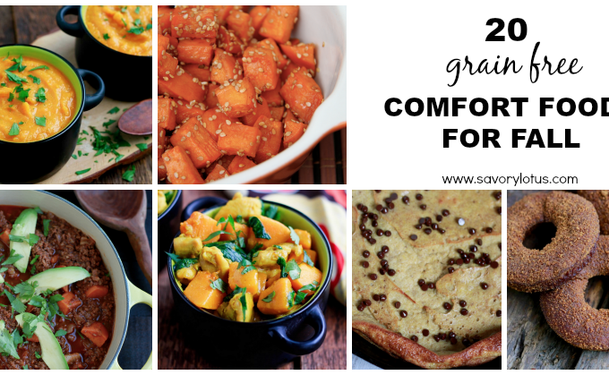 20 Grain Free Comfort Foods for Fall