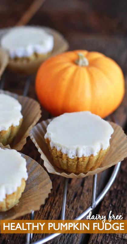 pumpkin fudge, paleo, dairy free