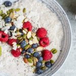 Chia Pudding Breakfast Bowl | www.savorylotus.com