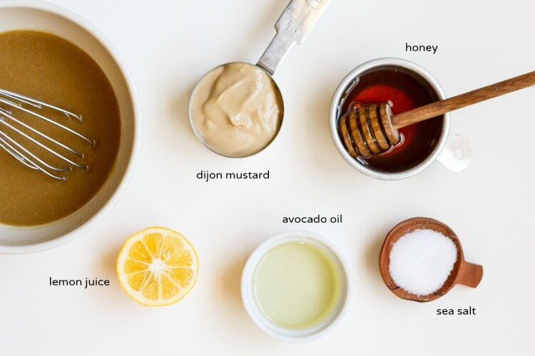 Healthy Honey Mustard Dressing \ www.savorylotus.com