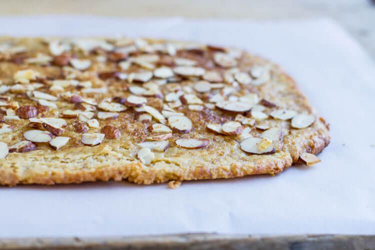 Simple Cherry Tart (gluten free) ~ www.savorylotus.com