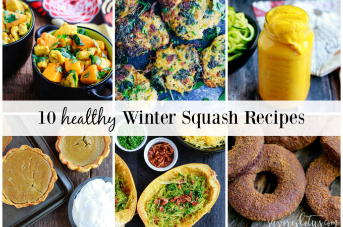 10 Healthy Winter Squash Recipes