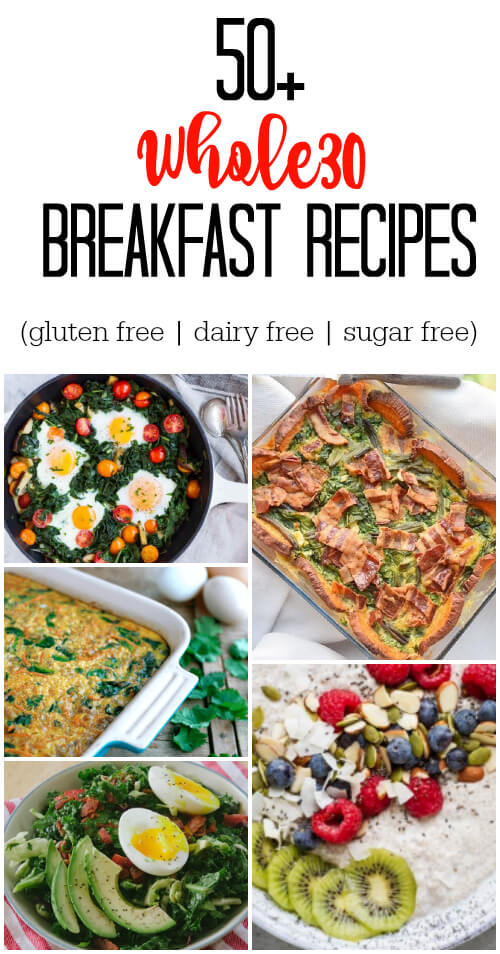 50+ Whole30 Breakfast Recipes - www.savorylotus.com