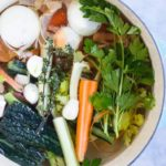 How to Make Vegetable Broth from Kitchen Scrapes \\\\ www.savorylotus.com