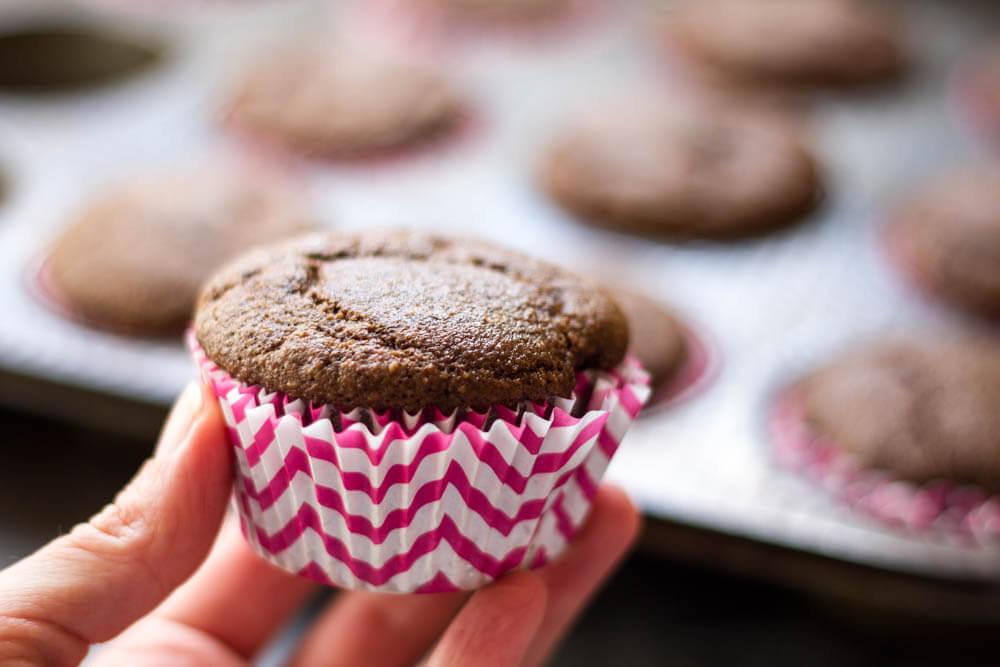 The Best Chocolate Cupcake Recipe (gluten free and grain free) \\\ www.savorylotus.com